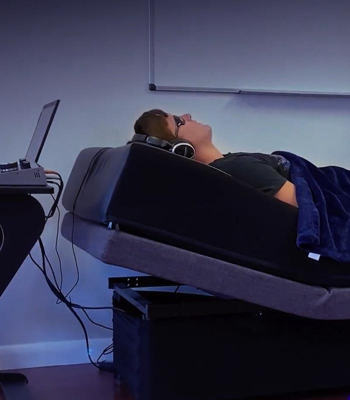 biofeedback therapy bed