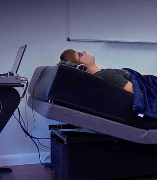 Biofeedback bed
